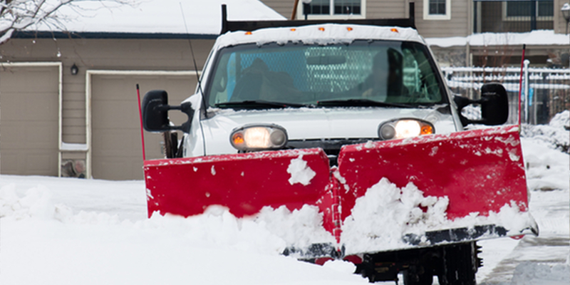 Residential Snow Plow