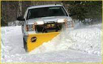 Doing snow removal and snow plowing in denver