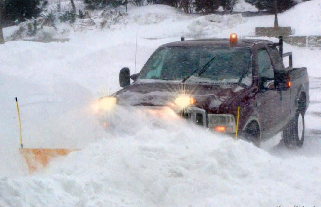 Snow removal in Denver